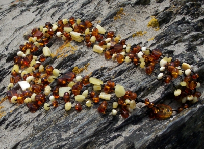 Amber Only Necklace ANECK14